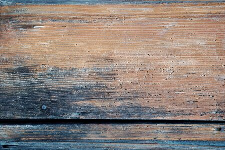 blue and orange old Wooden planks isolated background texture and Brown wooden texture