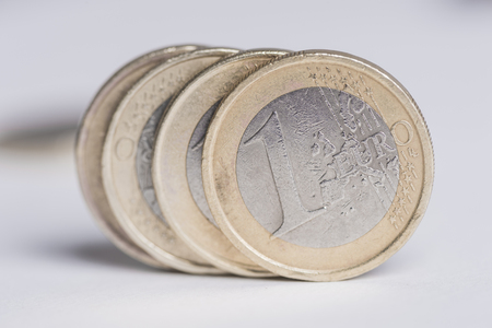 used 1 euro coins