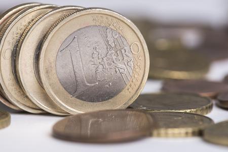 Saving coins Stock Photo