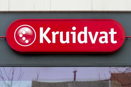 Kruidvat signboard at Meir Antwerp Editorial