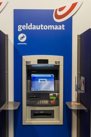Geldautomaat, atm of Bpost bank in Antwerp