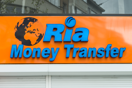 Ria Money Transfer branch in Antwerp