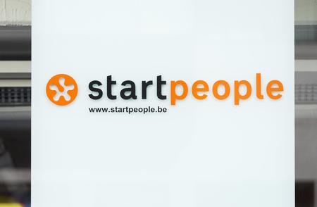 Logo van startpeople in Antwerpen Redactioneel