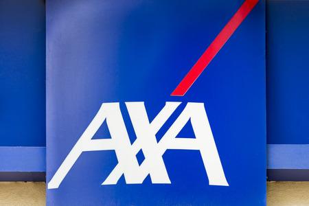 Logo of Axa Bank in Belgium