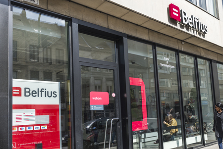 Belfius bank and insurance at Antwerp