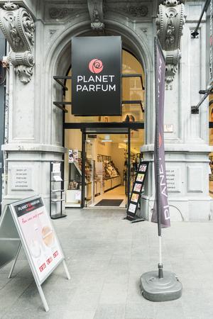 parfum: Planet Parfum store in Antwerp