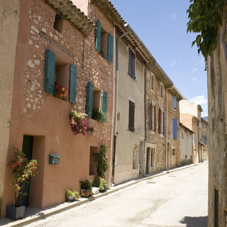 French Village from Provence. France.