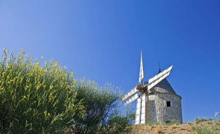 Old windmill, in Provence