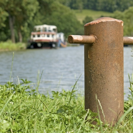 Canal Bourgogne, french waterway. France. Stock Photo - 15474652
