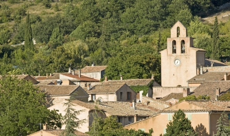 French Village in Provence. France.