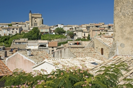 French Village, Riez town in Provence. France.