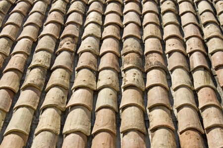 Roof tile in Provence  France