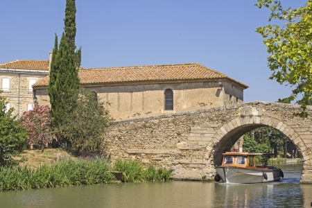 Canal du Midi, at Le Somail  France