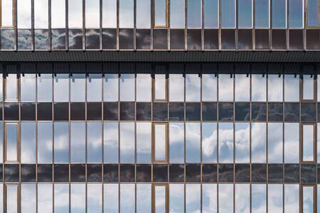 Glass facade of an office building 免版税图像