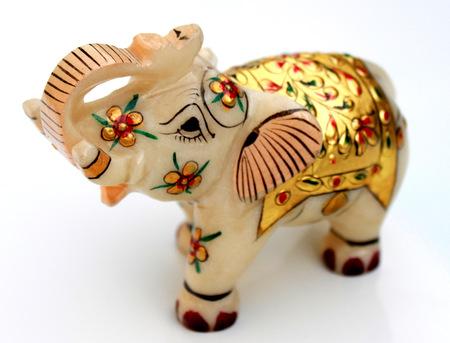 Indian Elephant Mini Sculpture
