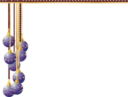 winter solstice: Cascade of illustrated gemstones and pearls adorned with Christmas snowflake ornaments.