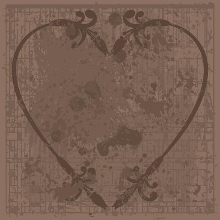 designelement: Abstract, Plant, Heart, Love, , , Wedding, Valentine, Foliage, Natural, Stylized, Retro, Style, Leaf, Texture, Nature, Beautiful, Design Element, Design-Element, Illustration, Hand-Drawn, Original, Art, Artistic, Spring, Grow, Artwork, Draw