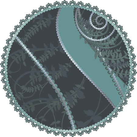 designelement: Abstract  background with pearls, and a natural grunge background. No Gradients.