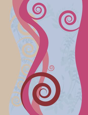 Sensual feminine abstract background. photo
