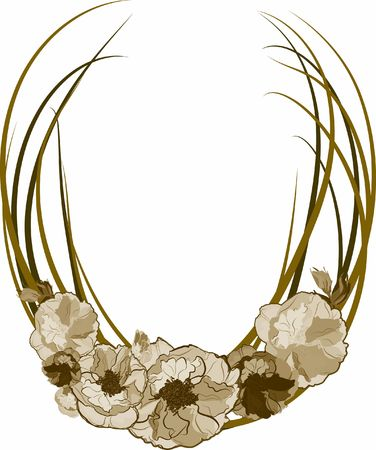 wildrose: Hand drawn Wild Rose illustration, file has no gradients.