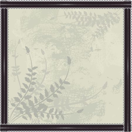 Abstract  background with pearls, lace, and a natural grunge background.