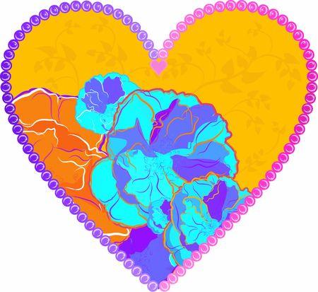 wildrose: Hand drawn Wild Rose frame, file has no gradients.  Stock Photo