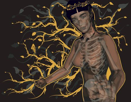 gnostic: You are the light, conceptual illustration of Gnostic Mary.