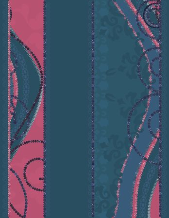 Abstract  background with pearls, gemstones. No Gradients.