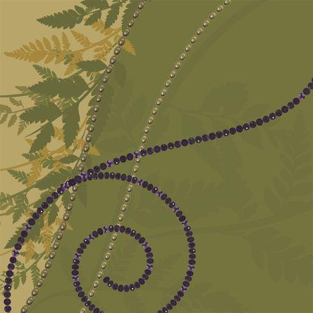 Abstracte achtergrond met parels, edelstenen en natuurlijke grunge textures. No Gradients.