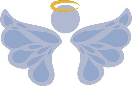 spiritual growth: Stylized Angel