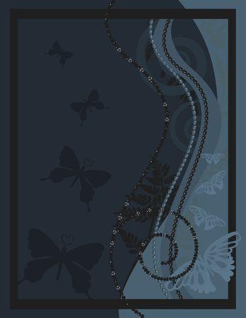 Abstracte vlinder achtergrond met natuurlijke grunge structuren. Geen verlopen.
