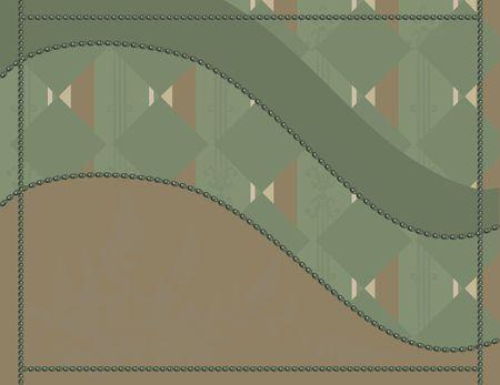 Abstracte achtergrond met parels, en een natuurlijke grunge achtergrond. Nr. Kleurverlopen. Stockfoto