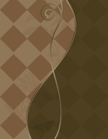 Plaid abstracte achtergrond met parels. Nr. Kleurverlopen.