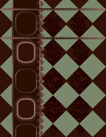 Plaid abstracte achtergrond met parels, edelstenen. Nr. Kleurverlopen.