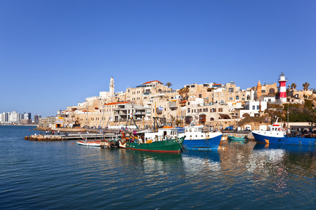 Il vecchio porto di Jaffa. Tel-Aviv Archivio Fotografico - 33624471