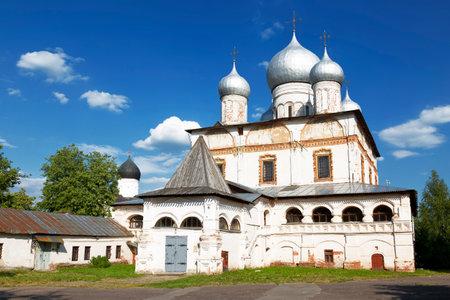 apses: Znamensky Cathedral. Veliky Novgorod, Russia