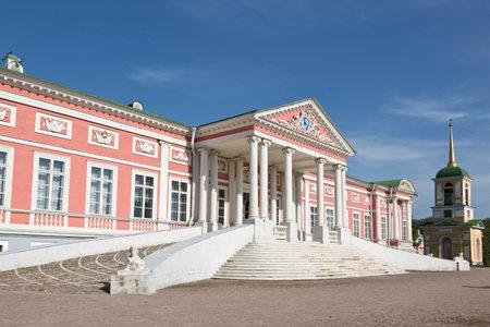 kuskovo: MOSCOW, RUSSIA - SEPTEMBER 18, 2015: Kuskovo estate of the Sheremetev family