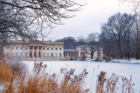 sobieski: Lazienki palace - Summer residence of King Jan III Sobieski in Warsaw, Poland Editorial