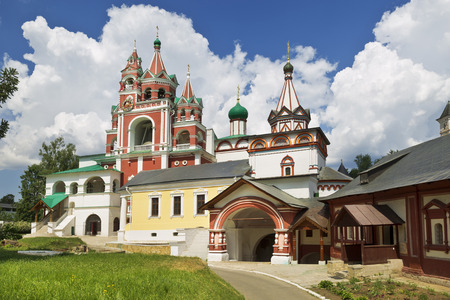 Medieval Savvino Storozhevsky monastery in Zvenigorod, Moscow region, Russia