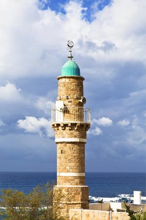 minaret: Jaffas Sea Mosque Minaret