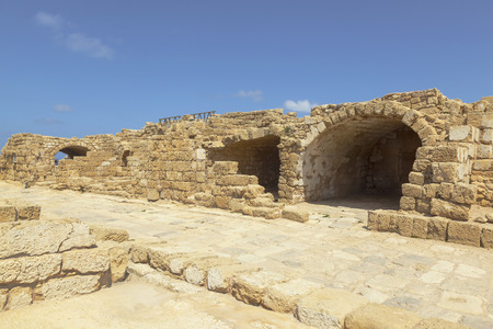 caesarea: Caesarea Palestine.Israel