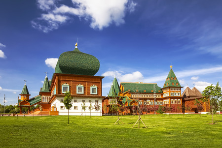 tsar: Moscow. Kolomenskoye. The Palace of Tsar Alexei Mikhailovich Editorial