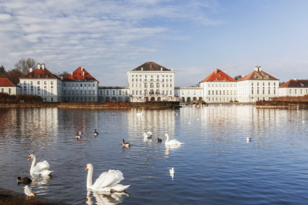 nymphenburg palace: The Nymphenburg Palace in Munich Germany