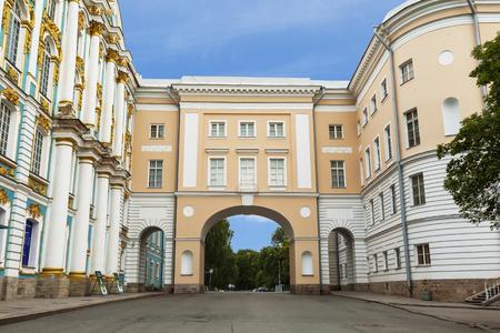 tsarskoye: Tsarskoye Selo Lyceum. City Pushkin, Russia