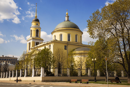 ascension: The Great ascension Church at Nikitsky gate, Moscow, Russia