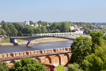 volkhov: Views of Novgorod the Great from the Kremlin