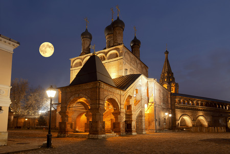 Krutitsy Metochion of Russian Orthodox Church, established in late 13th century. Moscow, Russia