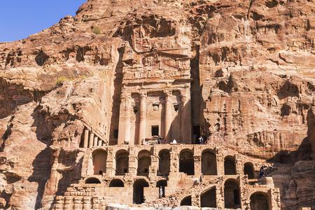 Jordan, Petra, Royal tombs
