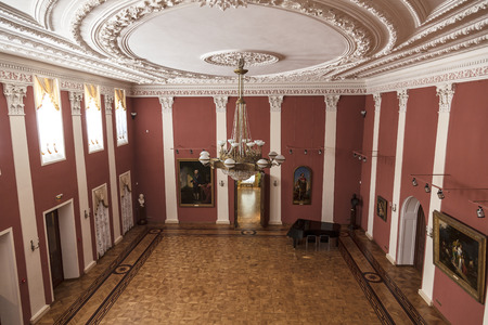 governor: Interior of The Governor house in Yaroslavl, Russia. Residence of Governor of Yaroslavl was built in 1820. Since 1970 in building is located the Art Museum Editorial