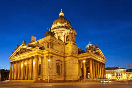 St. Isaacs Cathedral in Saint-Petersburg, Russia.